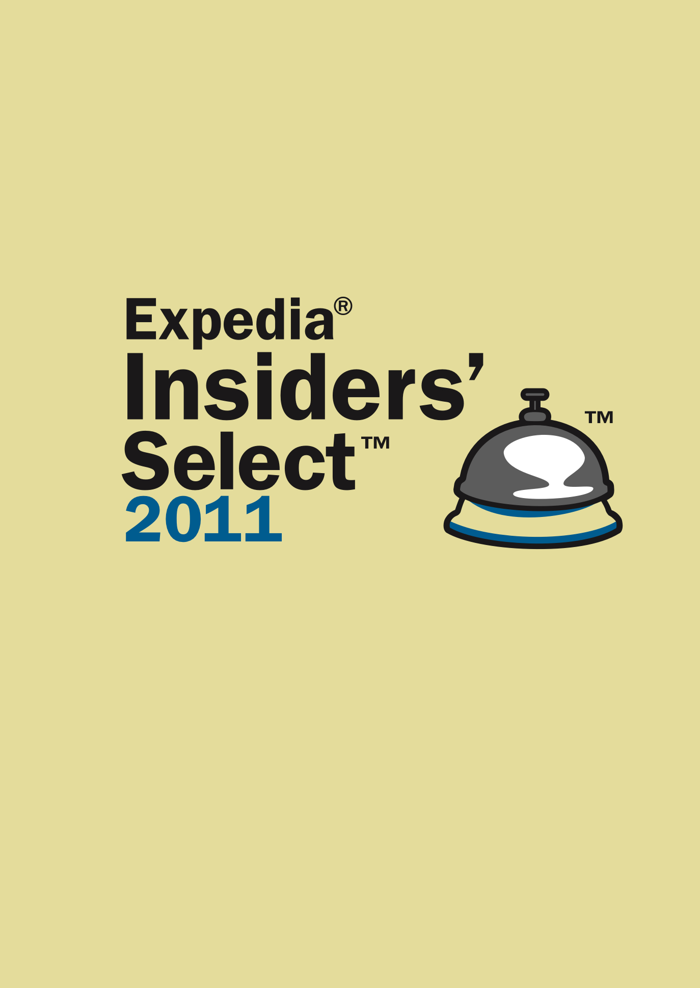 Expedia Insider Select 2011<br>—