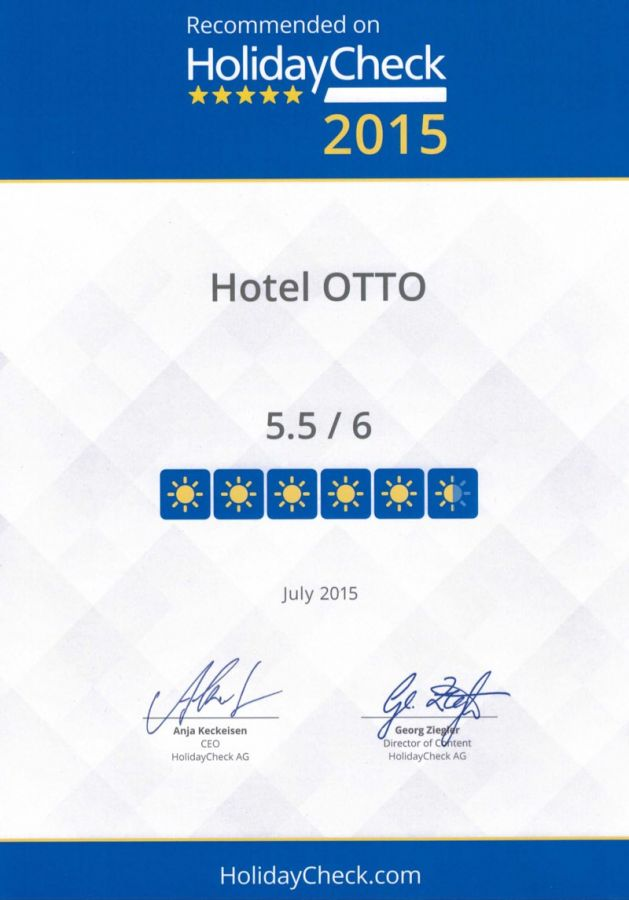 Reviews - Hotel Otto Berlin